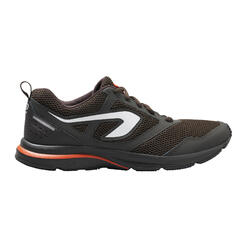 MEN'S RUNNING SHOES - DARK BROWN