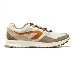 RUN ACTIVE GRIP MEN'S RUNNING SHOES - BEIGE