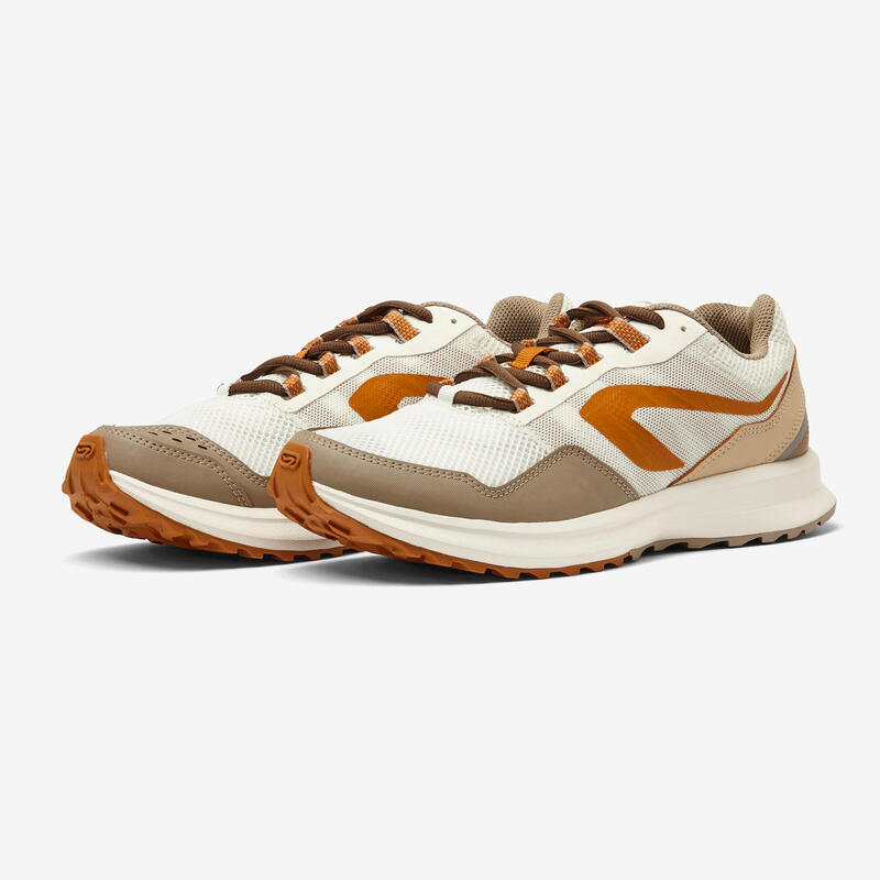 รองเท้าวิ่งผู้ชายรุ่น RUN ACTIVE GRIP (สีเบจ)