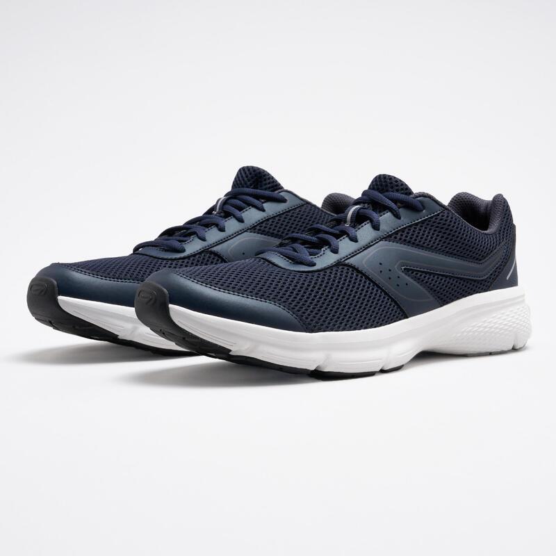 Erkek Mavi Siyah Koşu Ayakkabısı / Hafif Tempolu Koşu - RUN CUSHION