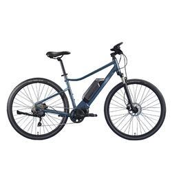 E-Bike Cross Bike 28 Zoll Riverside 540E blau/grau