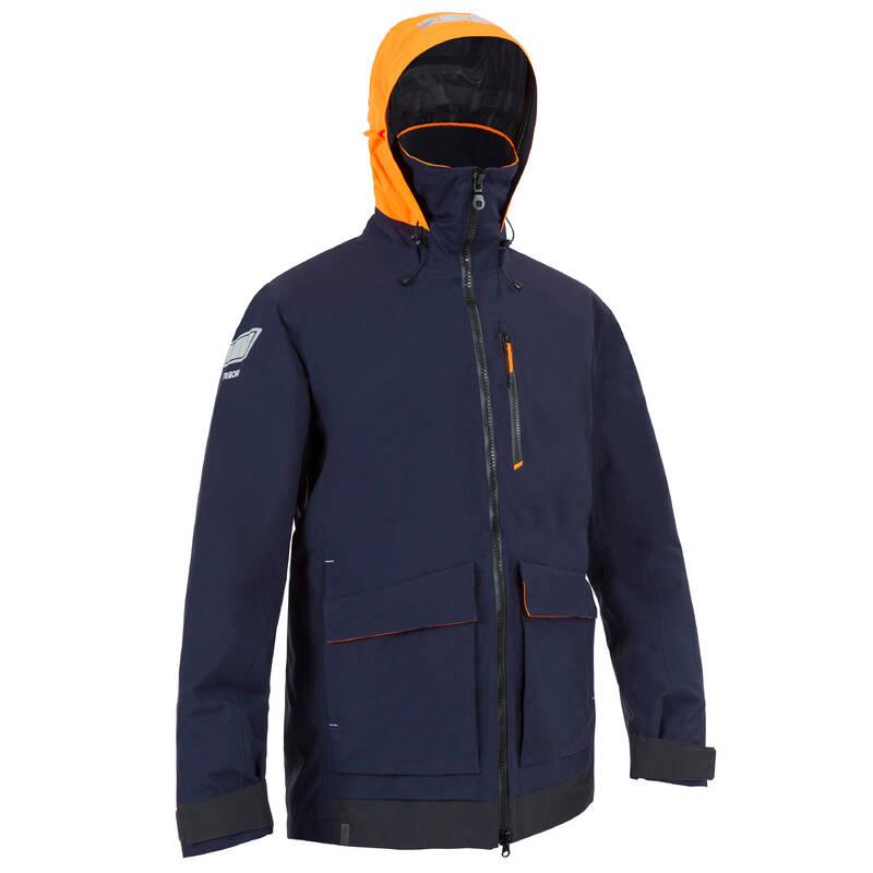PRÁZDNÉ Jachting - PÁNSKÁ BUNDA SAILING 500 MODRÁ TRIBORD - Jachtařské oblečení