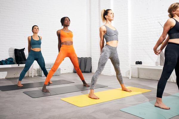 Top e leggings yoga