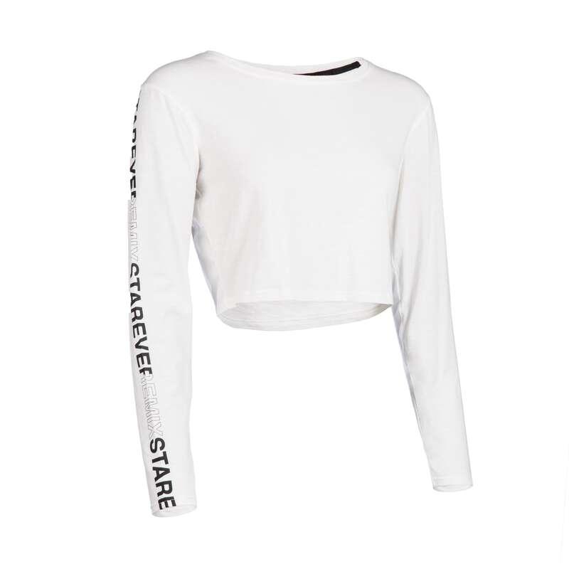 Női hip hop és utcai tánc ruházat Tánc, torna - Női hosszú ujjú póló  DOMYOS - Fitness - DOMYOS