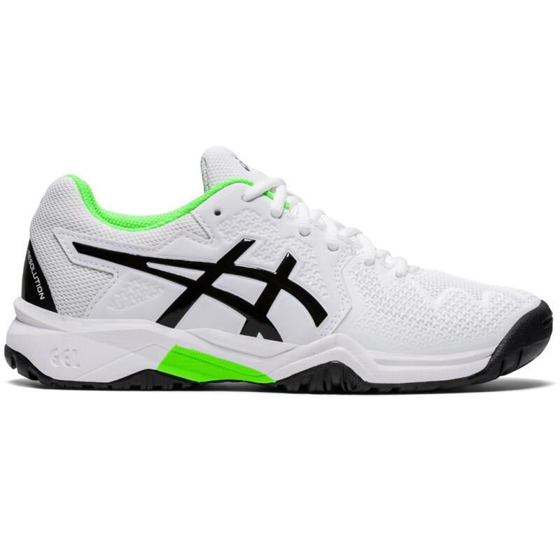Zapatillas de Tenis Asics Gel Resolution Niño Blanco
