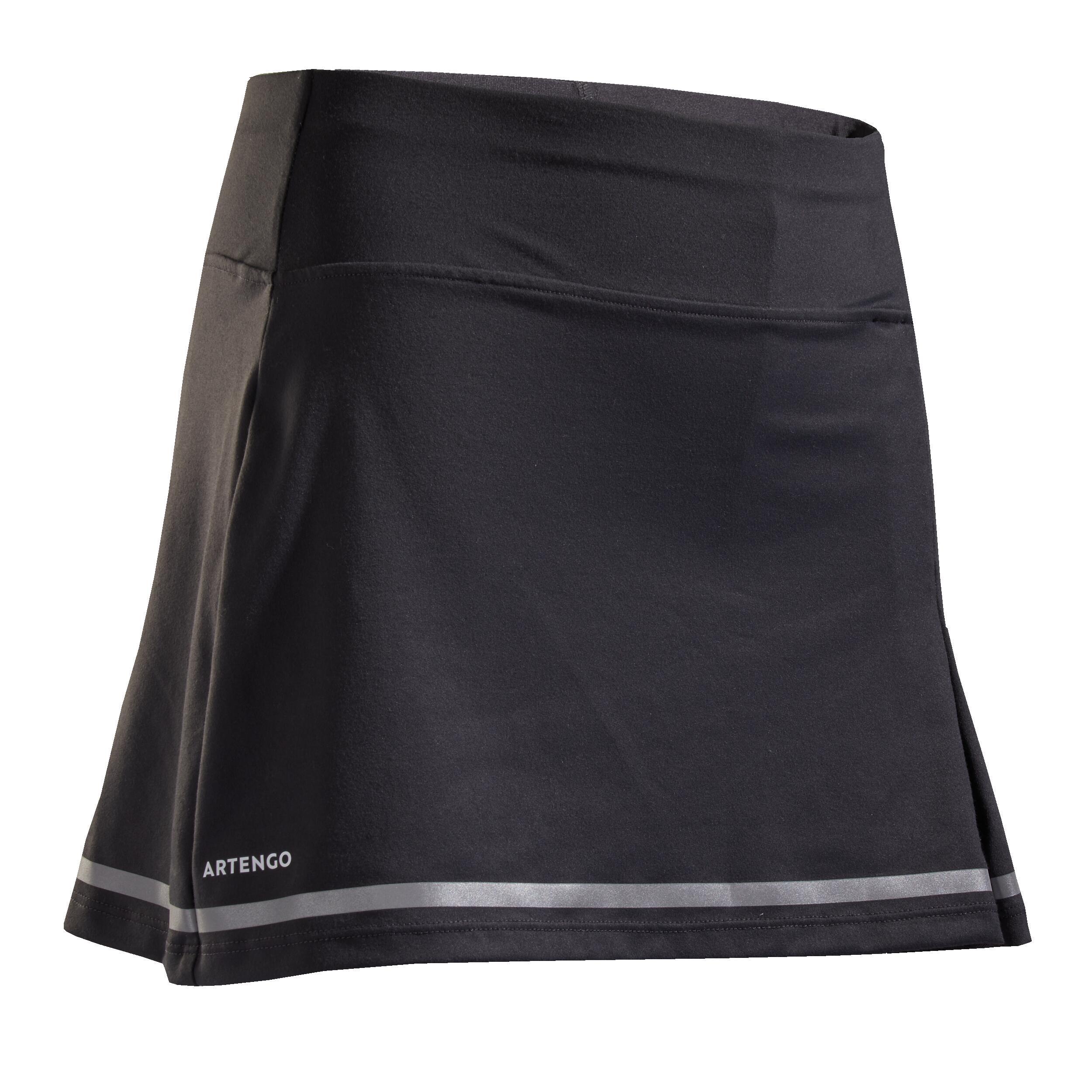 Fustă Tenis SK900 Gri Fete imagine