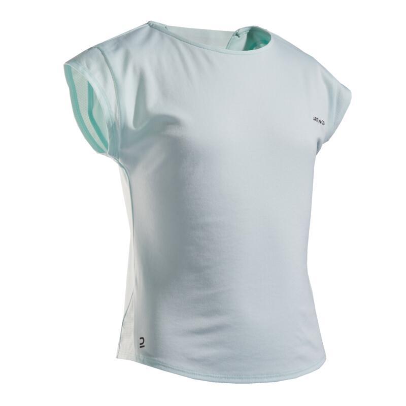 Girls' T-Shirt 500 - Light Green