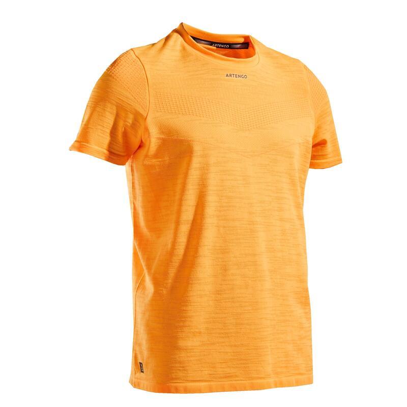 T-shirt tennis bambino 900 girasole