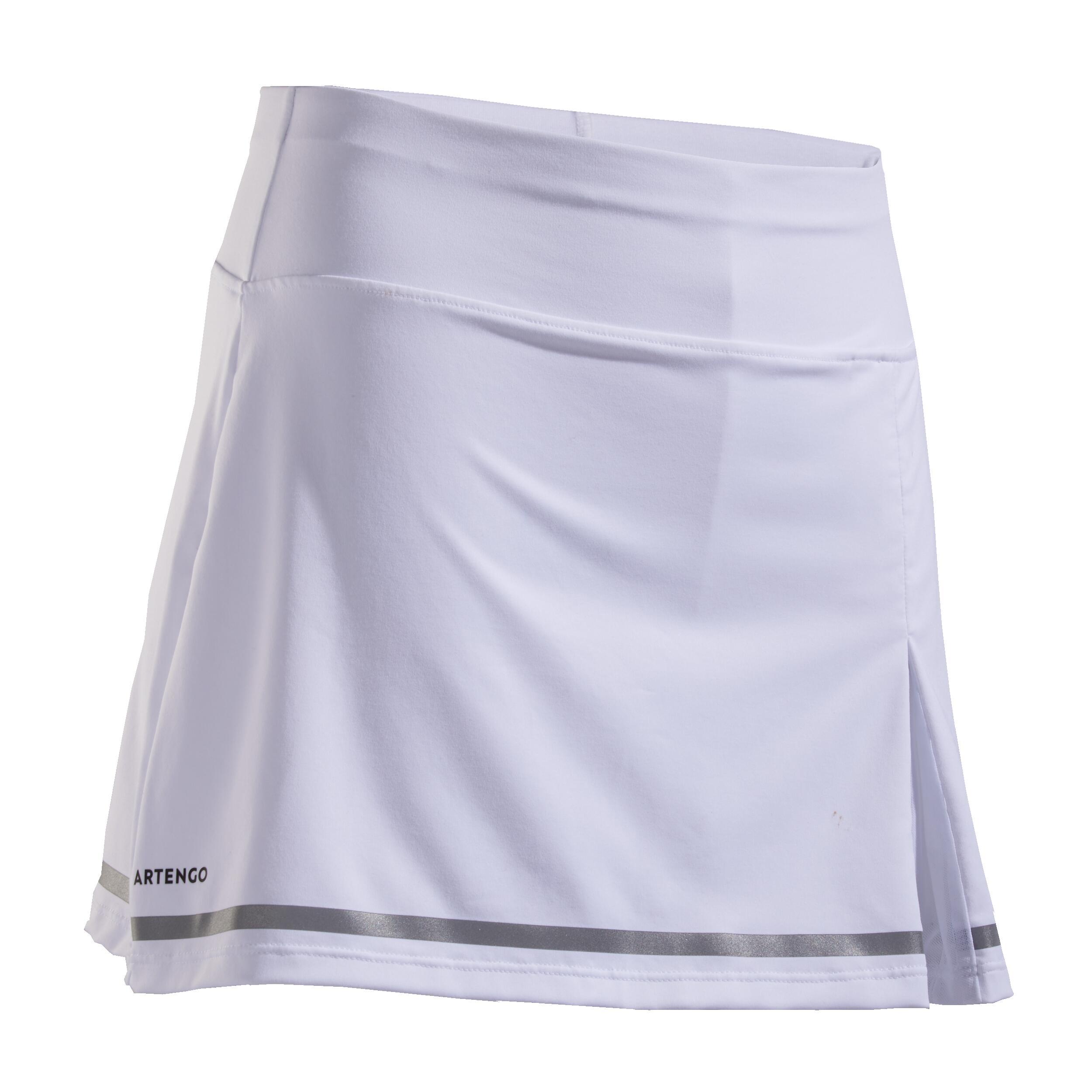 Fustă Tenis SK900 Alb Fete