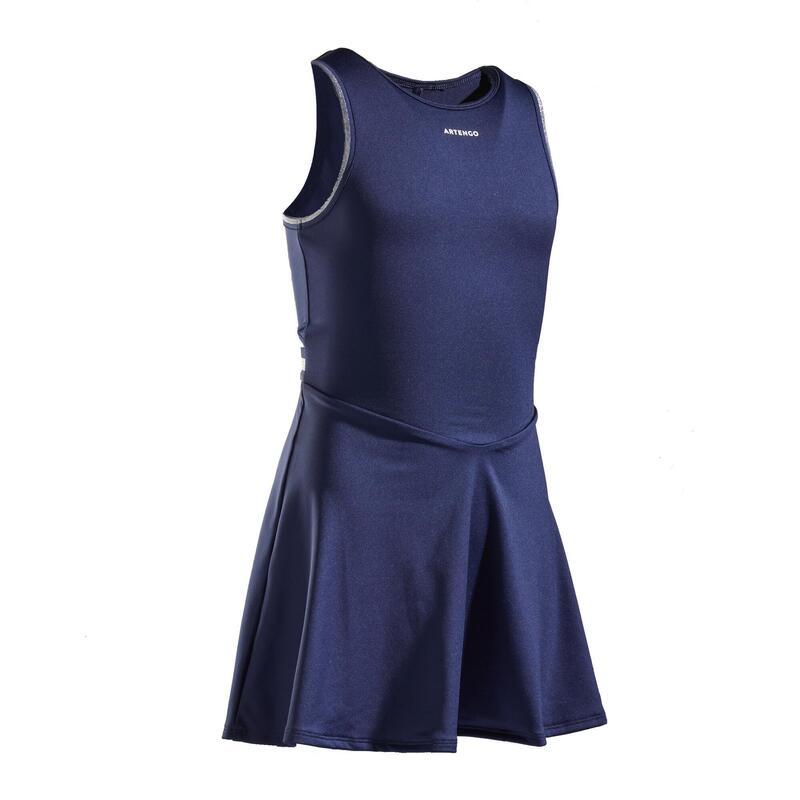 Tennis Dress TDR500 - Navy Blue