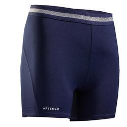 Pantaloncini tennis bambina 500 blu