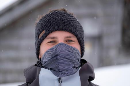 Adult Ski Headband Timeless Black