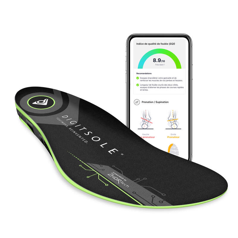 Üres Sportgyaloglás, Nordic walking - Okos talpbetét Digitsole DIGITSOLE - Nordic Walking