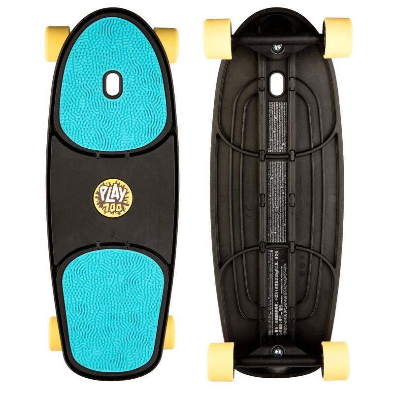 SKATEBOARD ZAČÁTKY Skateboarding, longboarding, waveboarding - SKATEBOARD PLAY 100 OXELO - Vybavení na skateboard