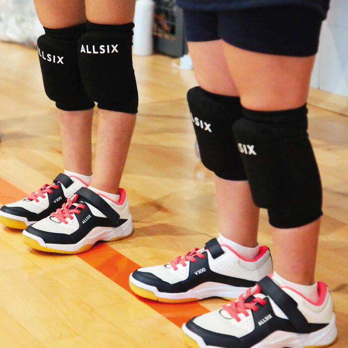 排球護膝VKP100-黑色