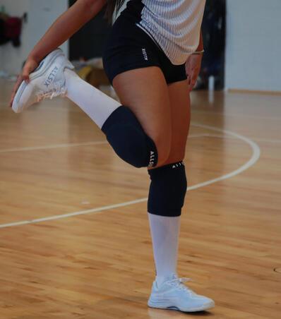 Rodilleras de voleibol VKP500 negras