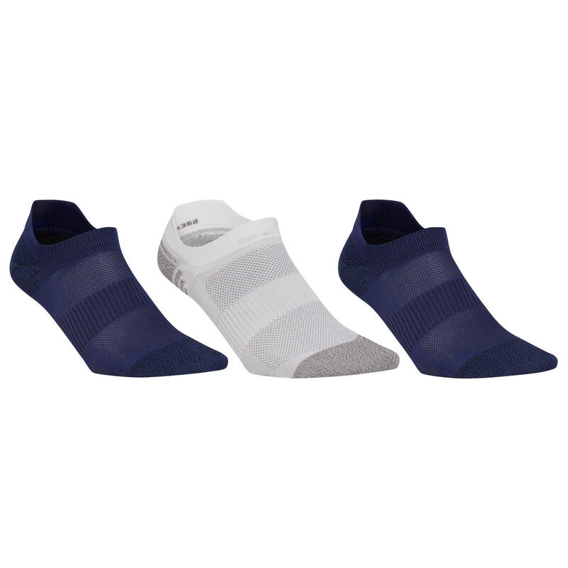 Calcet. Caminar / M. Nórdica WS 500 Invisible Fresh Adulto Azul / Blanco / Azul