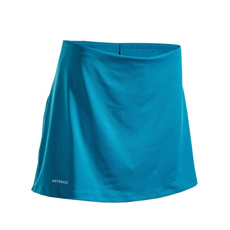 Women's Tennis Skirt SK Dry 100 - Turquoise