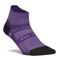 Chaussettes marche sportive, nordique, athlétique WS 900 Low Ed. Limitée violet