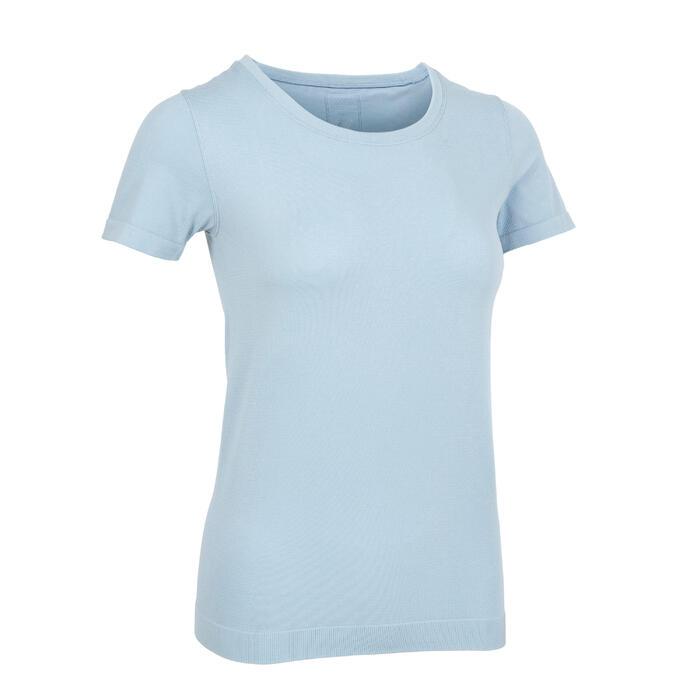 女款無縫瑜珈短袖T恤