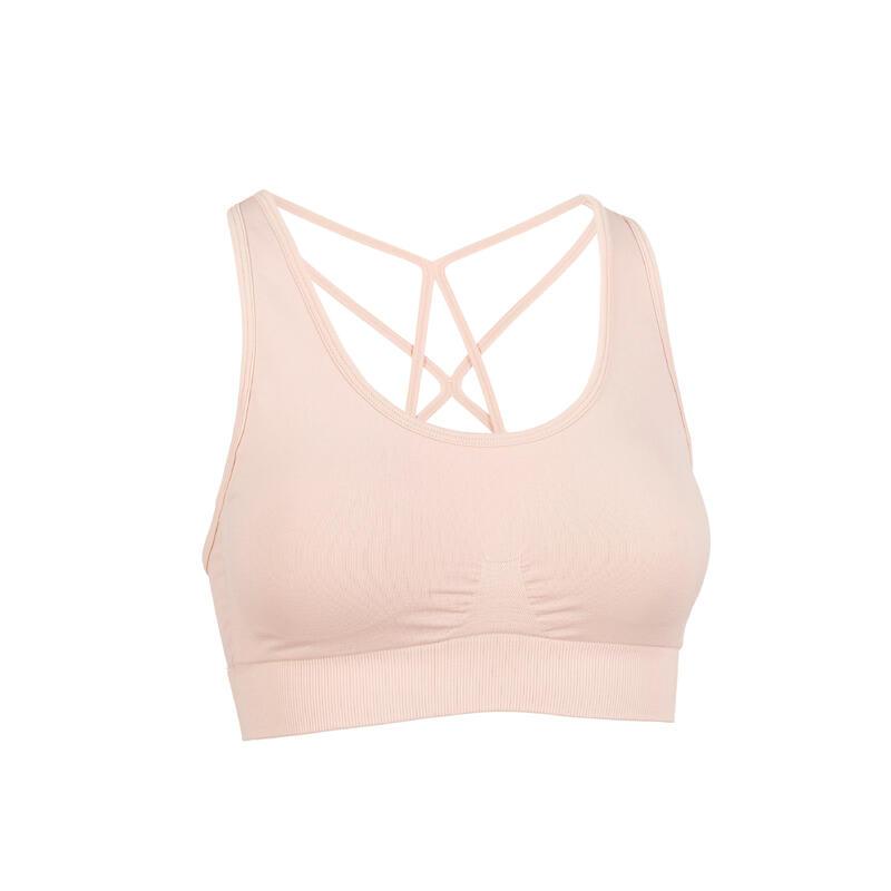 Dynamic Yoga Sports Bra - Pink