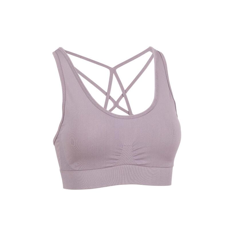 Dynamic Yoga Sports Bra - Purple
