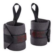 Weight Training Wrist Wrap Strap - Dark Grey