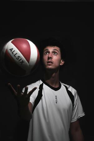 Men's Volleyball Jersey VTS500 - White
