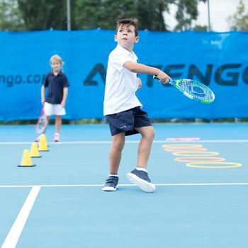 100 Kids' Tennis Shorts - Navy Blue - 195593
