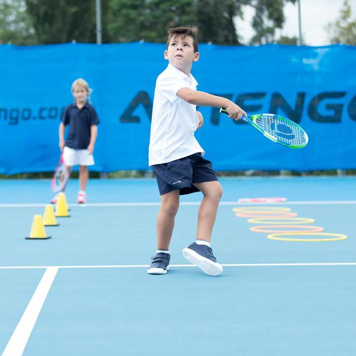 Tennisschuhe TS100 Turnschuhe Grip Kinder blau