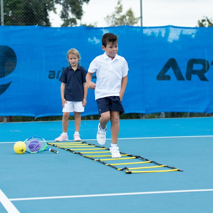 100 Kids' Tennis Shorts - Navy Blue - 195594