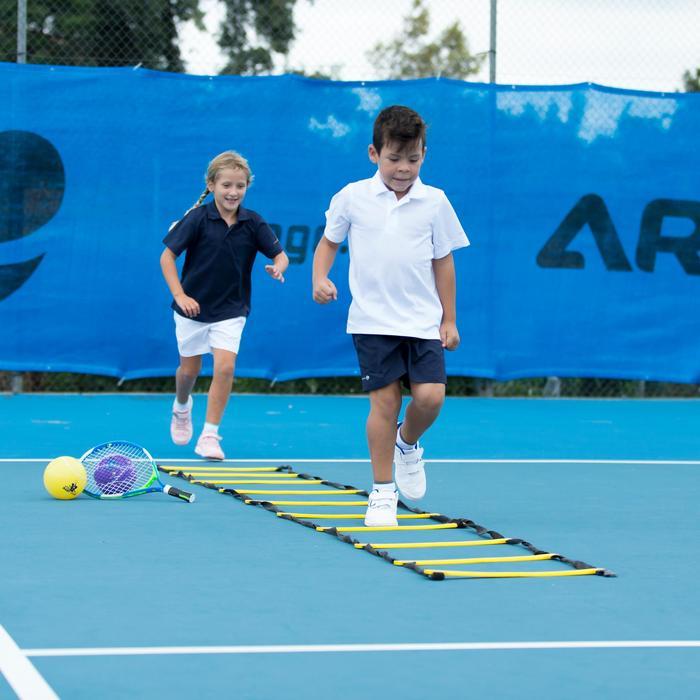 100 Kids' Tennis Shorts - Navy Blue - 195596