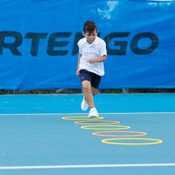 100 Kids' Tennis Shorts - Navy Blue - 195600
