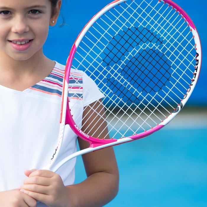 TR130 23 Girls' Tennis Racket - White/Pink - 195621