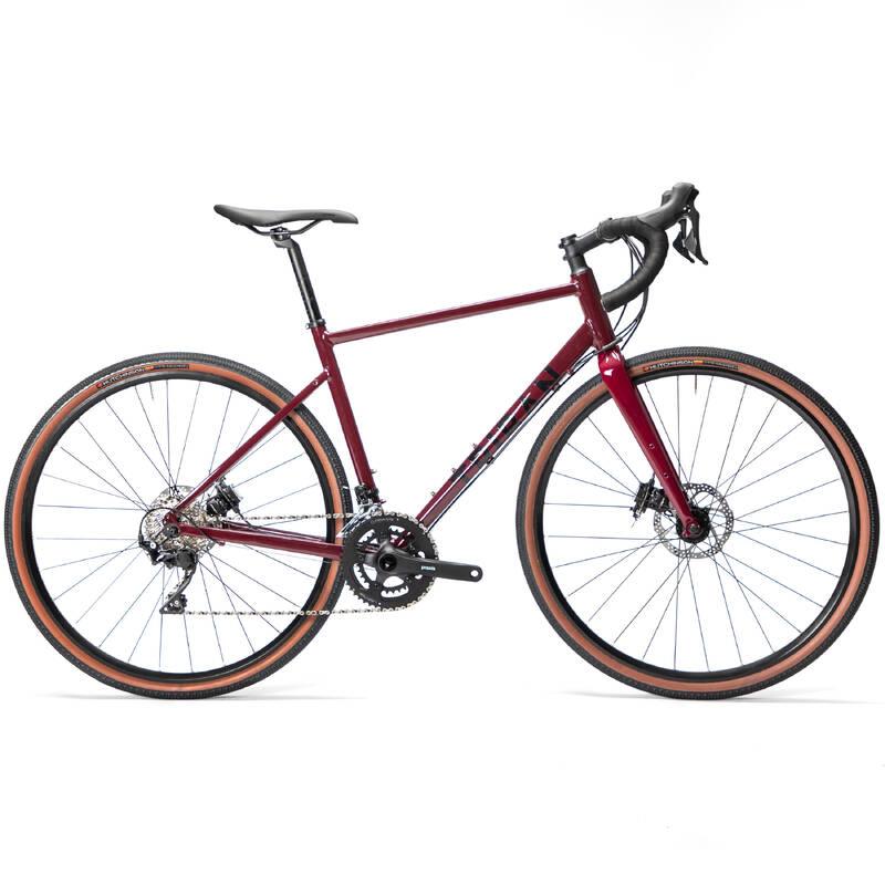 SILNIČNÍ KOLA NA CYKLOTURISTIKU Cyklistika - GRAVEL KOLO 520 SUBCOMPACT TRIBAN - Jízdní kola