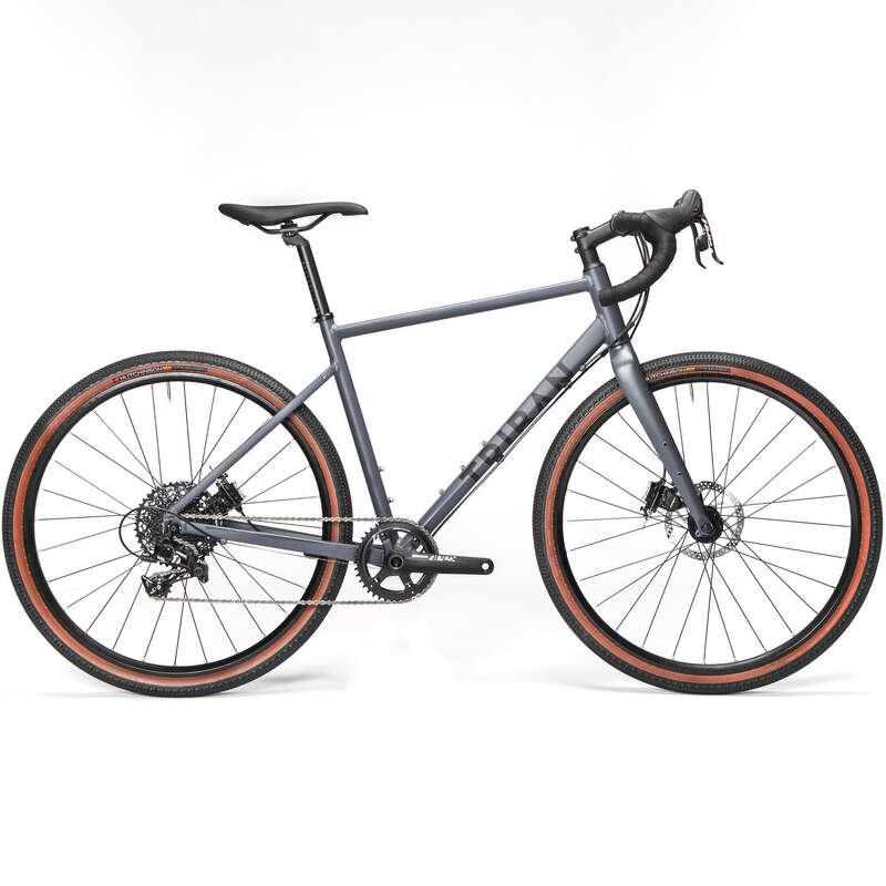 BİSİKLETLE SEYAHAT YOL BİSİKLETLERİ Yol Bisikleti - GRVL 520 BİSİKLET 1X11 TRIBAN - All Sports