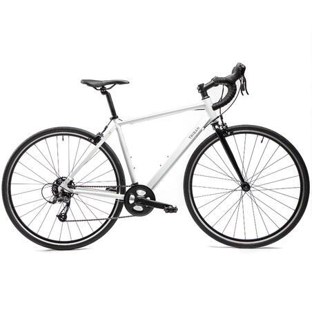 Rennrad Damen Triban Easy weiß