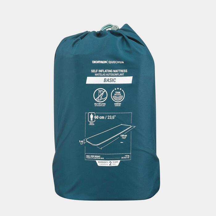 單人自動充氣露營睡墊 Basic-60 cm
