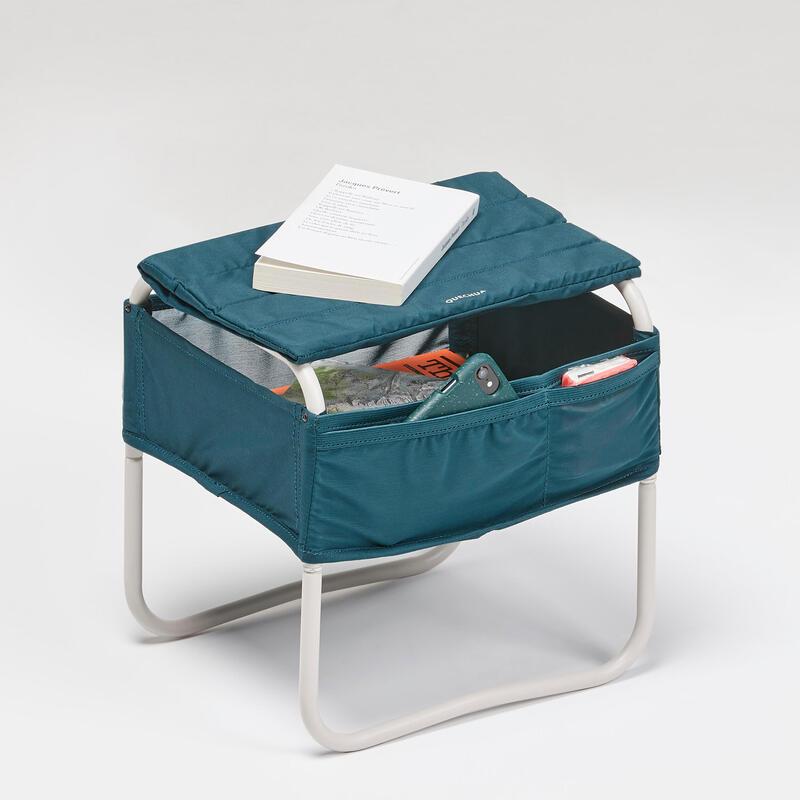 Table de chevet pour le camping - Compact