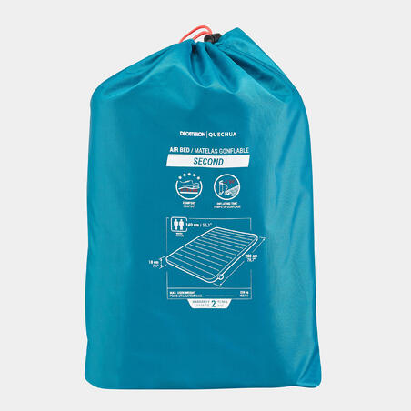 INFLATABLE CAMPING MATTRESS - AIR SECONDS 140 CM - 2 PERSON