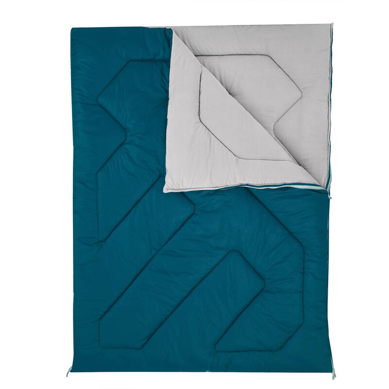 Saco de Dormir Doble Quechua 10ºC Transformable Edredón