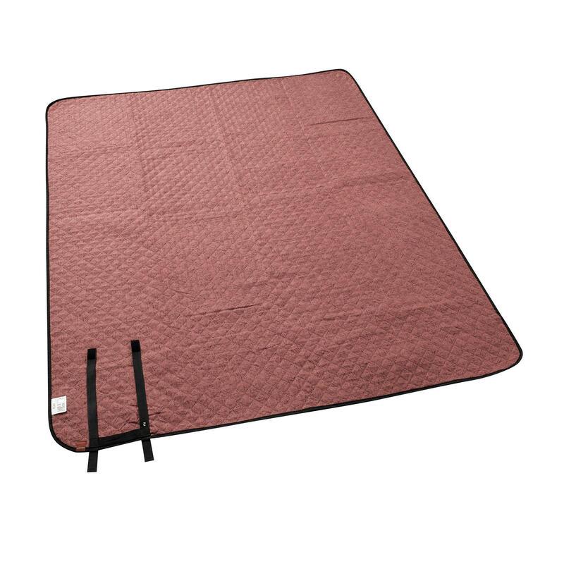 Pătură de camping şi drumeţie 140 x 170 cm cărămiziu