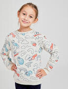 Kids' Baby Gym Sweatshirt Decatoons - Beige Print