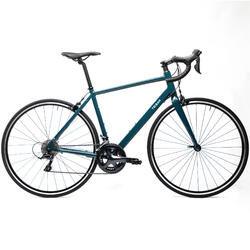 Bicicleta de Estrada Mulher Triban Regular Verde