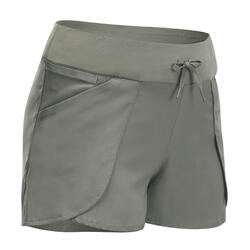 女款郊野健行短褲NH500 Slim