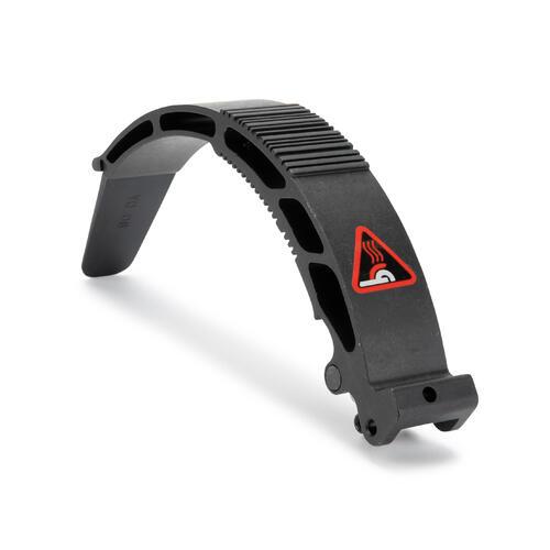 Kit de frein - garde boue arrière noir pour les trottinettes Mid 9.