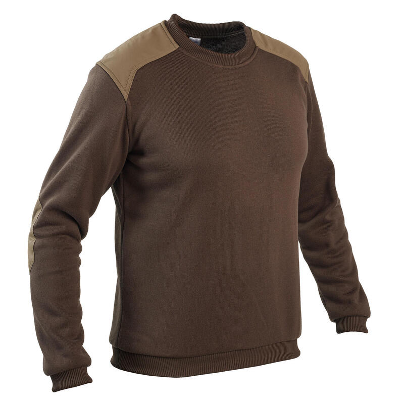 hunting pullover brown500