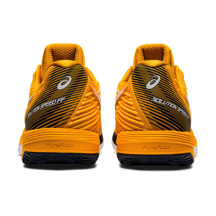 CHAUSSURES DE TENNIS HOMME GEL SOLUTION SPEED 2 FF JAUNES TERRE BATTUE