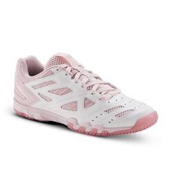 桌球鞋TTS 560 - 粉紅色配白色