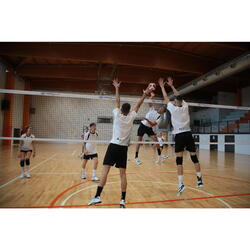 Short de volley-ball VSH500 homme noir
